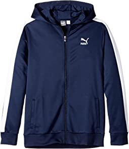 Puma Kids - T7 Poly French Terry Hoodie (Big Kids)