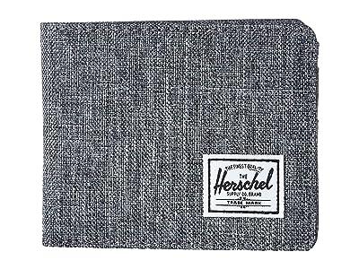 Herschel Supply Co. Roy RFID (Raven Crosshatch) Wallet Handbags