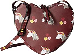 Unicorn Heart Shaped Crossbody