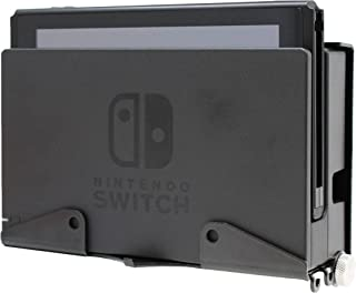 HumanCentric Nintendo Switch Mount | Wall Mount for Switch with Controller Hanger and Hooks | Patent Pending