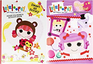 Set of 2 Lalaloopsy Jumbo Coloring & Activity Book! Sweet as Honey - 96 Pages - Tear and Share Pages - Coloring and Activity Book Perfect for any Lalaloopsy Fan!