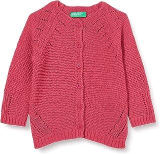 United Colors of Benetton (Z6ERJ) Girl's Maglia Coreana M/L Cardigan Sweater