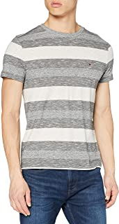 Tommy Hilfiger Heather Stripe tee Camisa para Hombre