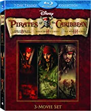 Pirates of the Caribbean 3 Movie Set: (Curse of the Black Pearl / Dead Man's Chest / At World's End)