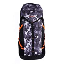 Gear Pro Trek Rucksack 45 LTR 42 Ltrs Black Camo School Backpack (RSKPROTRK0114)
