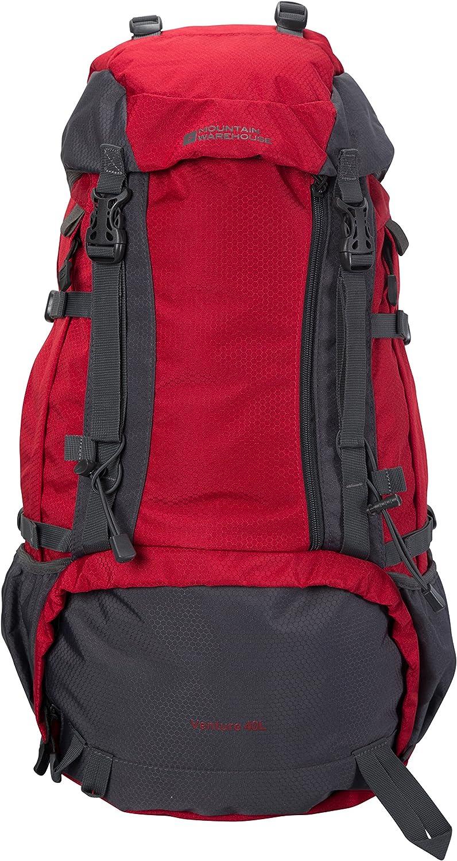 Mountain Warehouse Venture 40L Backpack  Travel Bag for Men & Women