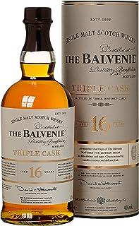 Balvenie 16 Years Old Triple Cask mit Geschenkverpackung Whisky 1 x 0.7 l