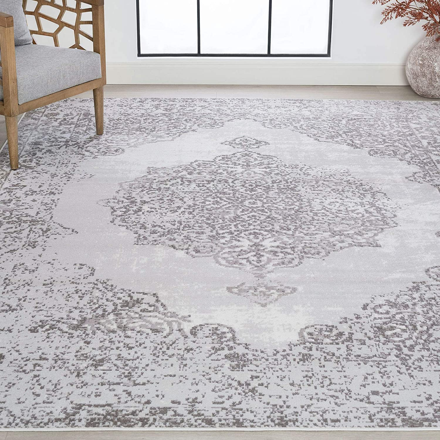 Lasonya White 4x6 Rectangle Area Rug Dorm Nu Sale Kids 35% OFF for Baby or