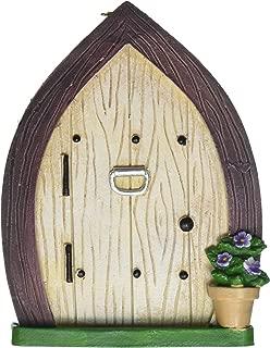 Darice 30007598 Mini 4.5In Door W Hook Resin, Multicolor