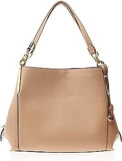 حقيبة كتف للنساء من كوتش - أزرق (ذهبي/خشب الزان) - 73546 GDEQO