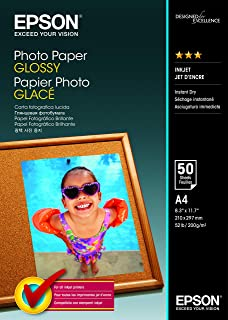 Epson C13S042539 A4 Photo Paper (Pack of 50)