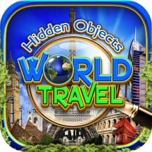 Hidden Objects World Travel – Seek & Find Object Puzzle Photo Pic Time & Spot the Difference Vacation Game