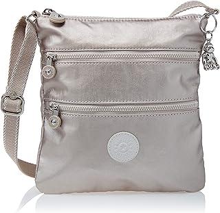 حقيبة يد نسائية Keiko صغيرة من كيبلينغ ، توهج معدني، 8 طول × 9 ارتفاع 1. 25 D US