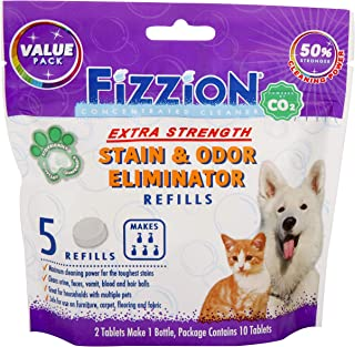 Fizzion Pet Stain and Odor Eliminator Removes Pet Urine and Feces Safely with The Professional Cleaning Power of CO2