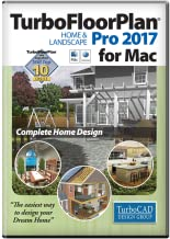 TurboFloorPlan Home and Landscape Pro 2017 Mac [Download]