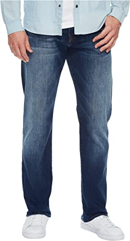 Mavi Jeans - Myles Mid-Rise Straight Leg in Dark Used Williamsburg