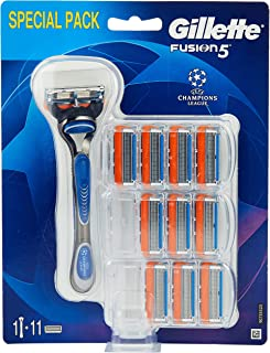 Gillette Fusion5 scheerapparaat, met 11 scheermesjes