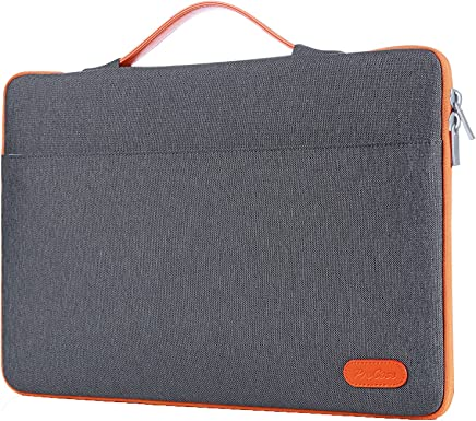 """ProCase 13 - 13.5 Inch Laptop Sleeve Case Bag for Surface Laptop Surface Book Macbook Pro, Protective Carrying Handbag Cover for 12"""" 13"""" Lenovo Dell Toshiba HP ASUS Acer Chromebook Notebook -Dark Gray"""