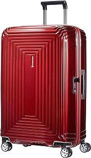 Samsonite 新秀麗 Neopulse 萬向輪4輪中型行李箱 25英寸 69cm 74L 金屬紅色