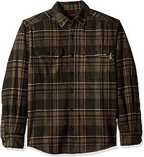Wolverine Men's Glacier Heavyweight Long Sleeve Flannel Shirt