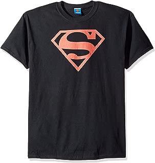 DC Comics Men's Superman Italian Shield T-Shirt