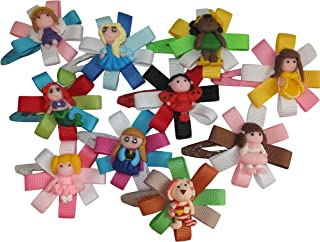 10pc Boutique Hair Clips for Kids Children Women Teens & Toddlers ⌘Grosgrain Ribbon w/ Alligator Clips ⌘Perfect Hair Accessories for Girls Of Any Age ⌘Great Accent for Pigtails Or as a Fashion Headband Addition ⌘Makes a Fantastic Gift