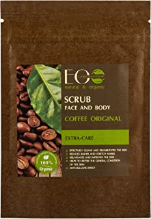 EO Laboratorie natural & organic Coffee Face & Body Scrub, 40 gm