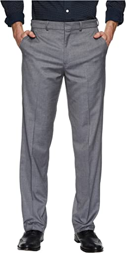 Straight Flat Front Stretch Trousers
