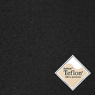 8,49€/m Breaker Teflon - schwarz - winddichter, wasserabweisender, beschichteter Stoff - Polyester - Segeltuch - Farbe: schwarz - Meterware