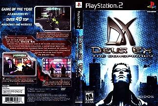 PS2 DEUS EX THE CONSPIRACY