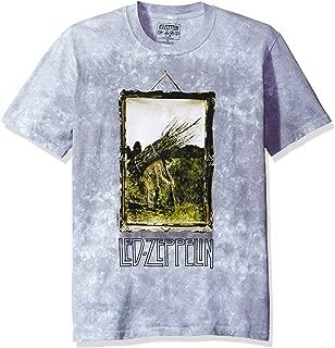 Men's Led Zeppelin Man with Sticks Short Sleeve T-Shirt