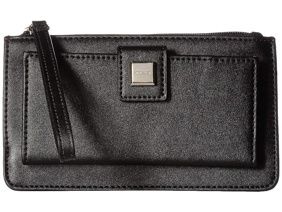 Nine West Abiline SLG Wristlet (Black) Wristlet Handbags