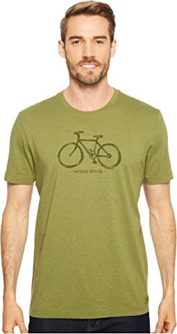 Mobile Device Bike Crusher Tee