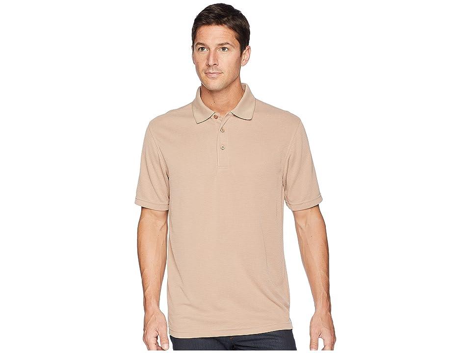 BUGATCHI Short Sleeve Polynosic Polo (Robusto) Men