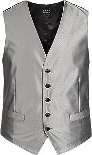 Men's Business Dress Waistcoat Formal Suit Vest