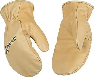 Kinco 1930-M-1 Axeman Cowhide Leather Mitt Gloves, 12.3