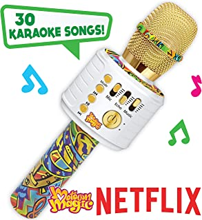 Motown Magic Bluetooth Karaoke Microphone Perfect Christmas Gifts for Kids, Toy for 4 5 6..