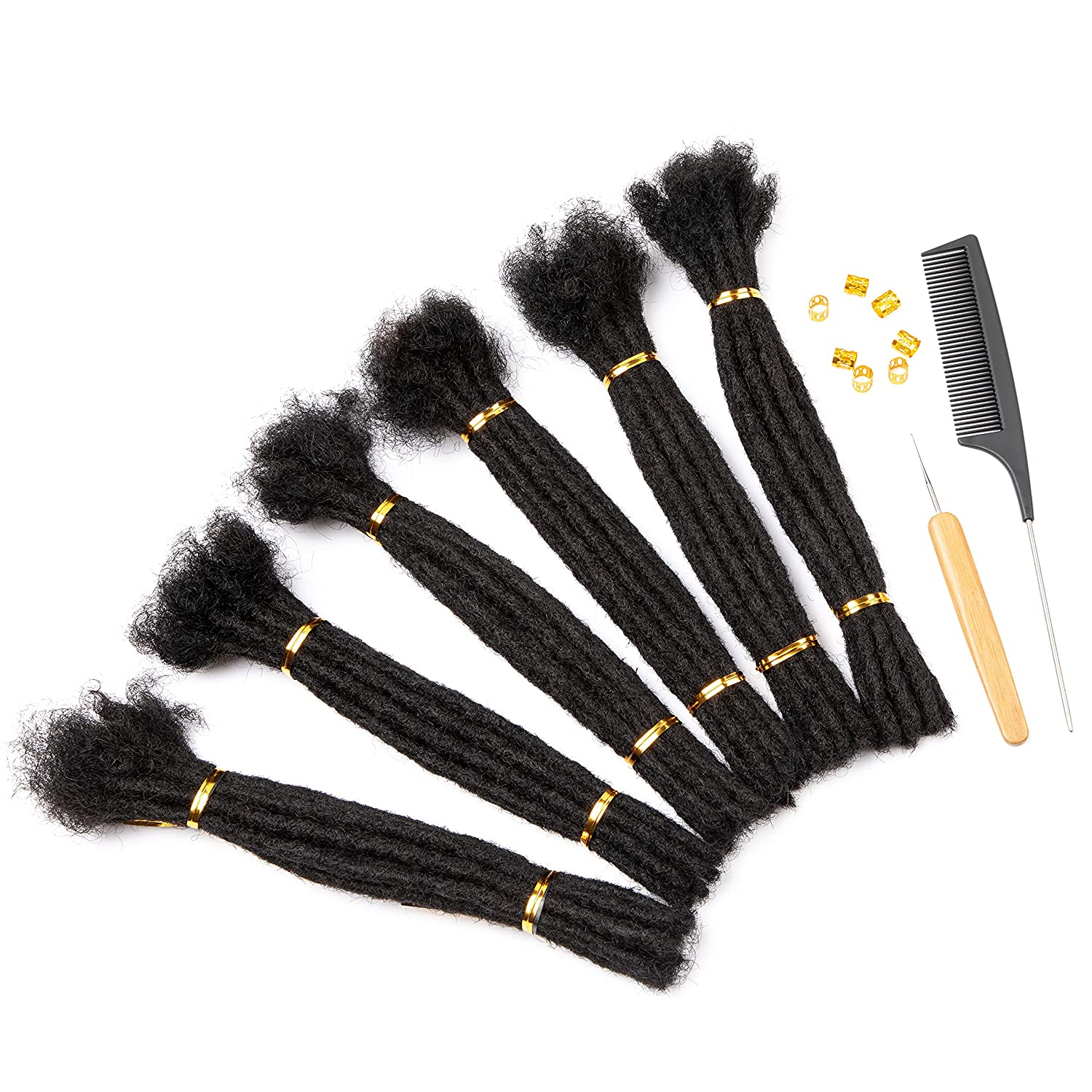Originea Dreadlock Extensions Made From Perm Manufacturer regenerated Max 45% OFF product Hair Handmade Human