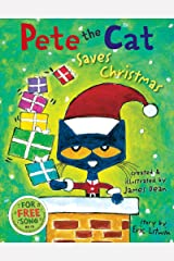 Pete the Cat Saves Christmas: Includes Sticker Sheet! Kindle Edition