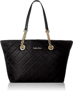 Calvin Klein 2 DX Quilted Nylon Tote Shoulder Bag