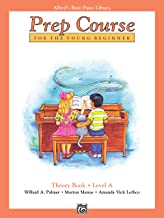 Alfred's Basic Piano Prep Course Theory, Bk A: For the Young Beginner (Alfred's Basic Piano Library) Book PDF
