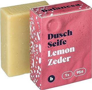 BALANCEA Seife Lemon-Zeder/Haarseife Naturseife Duschseife/ 1er Pack 1 x 95 g