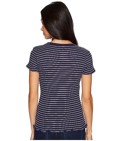 ASSN POLO Shirt Knit Short Rib Striped S U T Sleeve 5azqEBw