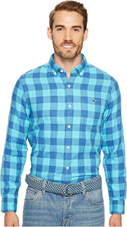 Vineyard Vines - Crepe Myrtle Check Slim Tucker Shirt