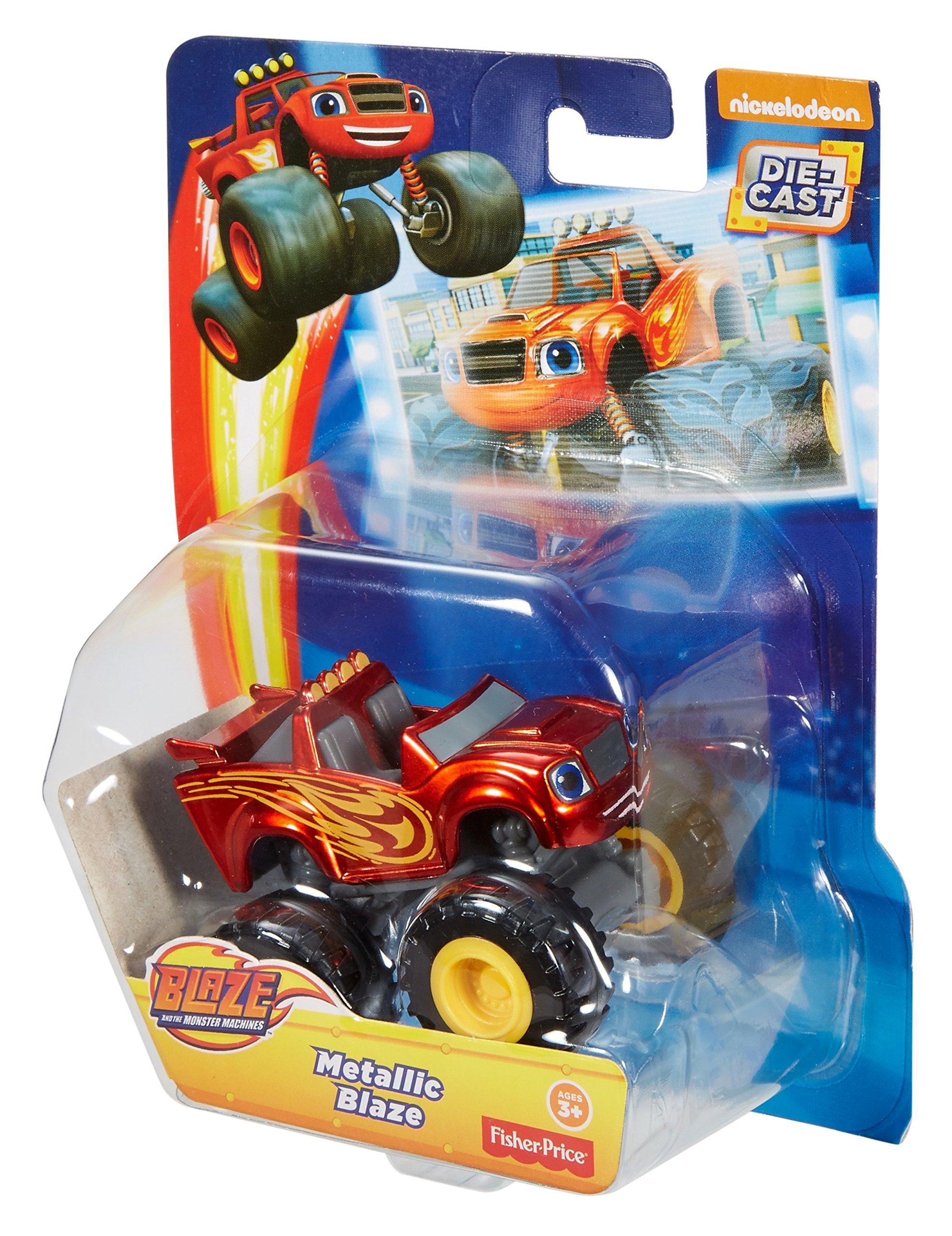 Fisher-Price Nickelodeon Blaze & the Monster Machines, Metallic Blaze