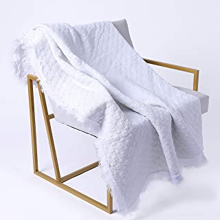 cotton quilted throw blankets