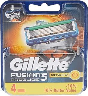 Gillette Fusion ProGlide Power Razor Blade Refill x4