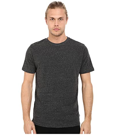 Threads 4 Thought Baseline Tri-Blend Crew Tee (Heather Black) Men