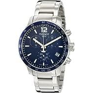 Men's Swiss Quartz Stainless Steel Casual Watch (Model: T0954171104700)