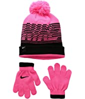 Nike Kids - Velocity Beanie & Gloves Set (Little Kids)